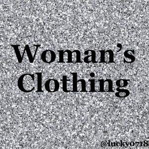 Woman's clothing below: